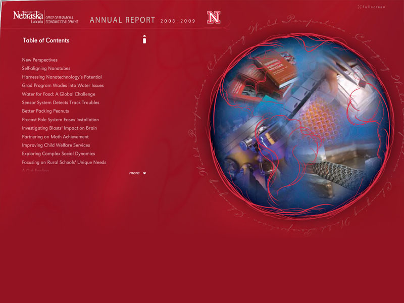 UNL Office of Research 2009 Online Annual Report