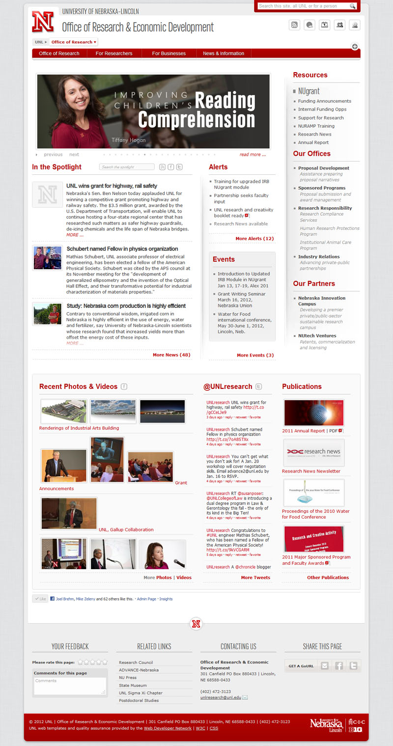 UNL Office of Research Online