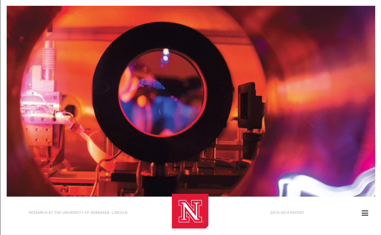 UNL Office of Research 2014 Online Annual Report