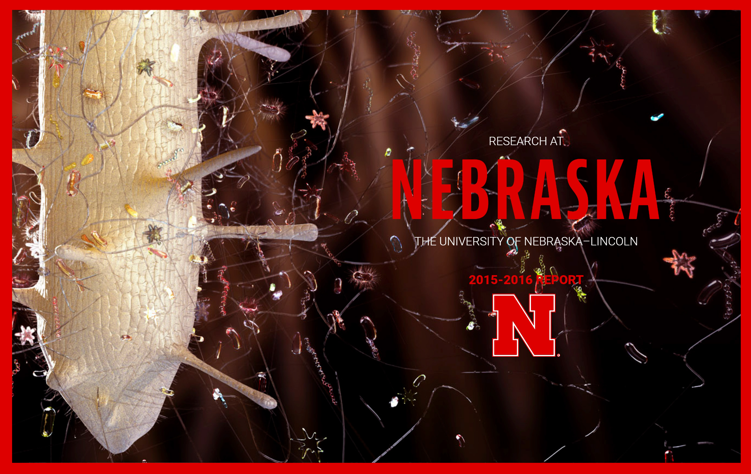 UNL Office of Resarch 2016 Online Annual Report